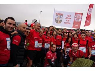 Callpex ve Akut, Avrasya Maratonu'nda iyilik peşinde koştu