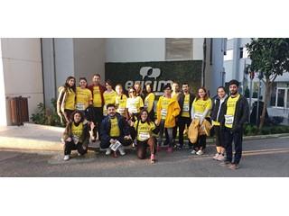 Erişim İstanbul Maratonu'nda Lösev İçin Koştu