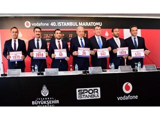 Vodafone 40. İstanbul Maratonu 100 Ülkeden 30 Bin Koşucuyu Bir Araya Getirecek