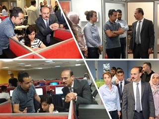 Yozgat Valisi Kemal Yurtnaç' ın Webhelp Ziyareti