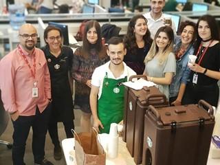 Erişim Müşteri Hizmetleri'nde Starbucks Günü