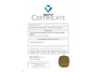 Teleperformance Türkiye EN 15838:2009 sertifikasını aldı