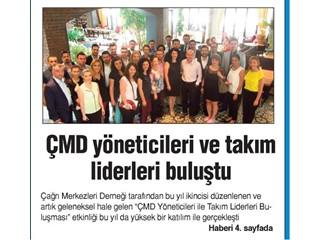 ÇMD yötecileri ve takım liderleri buluştu