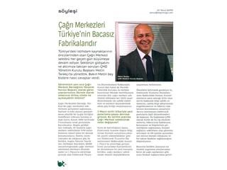 Çağrı merkezleri Türkiye'nin bacasız fabrikalarıdır