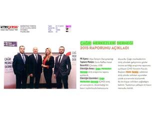 Çağrı Merkezleri Derneği 2015 raporunu açıkladı !
