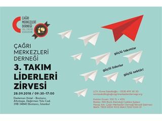 ÇMD 3. Takım Liderleri Zirvesi 28 Eylül'de Dedeman Bostancı'da