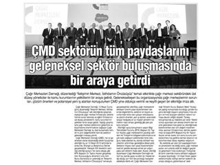 ÇMD sektörün tüm paydaşlarını geleneksel sektör biraraya getirdi