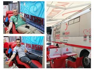 CMC Turkey Malatya Çalışanları Kızılay'a Kan Bağışladı