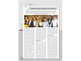 ÇMD'den genç liderlere tam destek