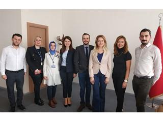İBB Halkla İlişkiler Müdürü Olarak Atanan Fulya Solmaz'ı Ziyaret Ettik