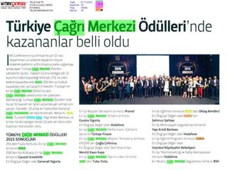 Türkiye Çağrı merkezleri ödüllerinde kazananlar belli oldu