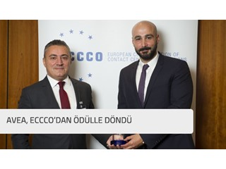 Avea, ECCCO'dan ödülle döndü.