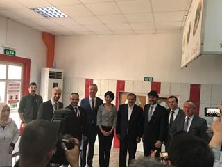 Bakan Eroğlu'ndan Tempo Çağrı Merkezi'ne Ziyaret