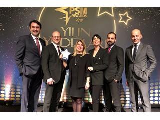 """CPP Group Türkiye, PSM AWARDS 2019 """"En İyi Güvenlik Çözümü"""" Kategorisinde Ödülünü Aldı"""