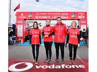 Vodafone Yarı Maraton Takımı Sağlık İçin Koştu