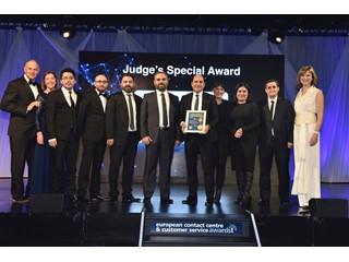 """Avrupa Çağrı Merkezi ve Müşteri Hizmetleri Organizasyonu ECCCSAs'da (European Contact Center & Customer Service Awards ) ''Jüri Özel Ödülü"""" ile """"En Beğenilen ve En İyi Çok Dilli İletişim Merkezi Ödülü"""" Pusula Call Center İletişim Anonim Şirketi'nin"""