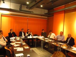ÇMD YK Üyeleri 2014 Yılı Kapanış Toplantısında Biraraya Geldi