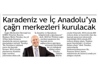 Karadeniz ve İç Anadolu'ya çağrı merkezleri kurulacak