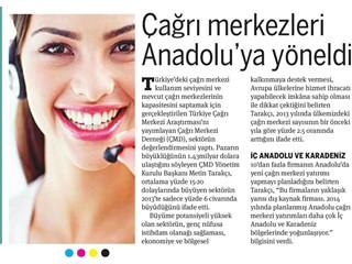 Çağrı merkezleri Anadolu'ya yöneldi