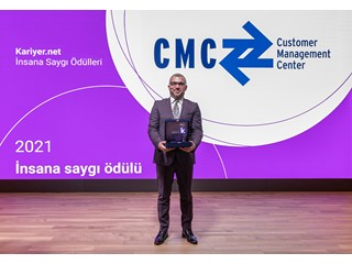"""CMC Türkiye, Çalışanlarına Verdiği Önemi """"İnsana Saygı"""" Ödülü'yle İkinci Kez Kanıtladı"""